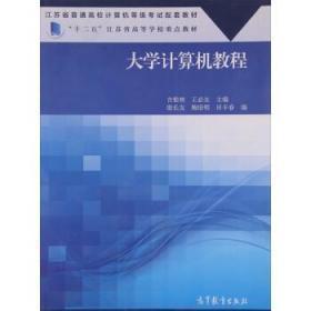 大学计算机教程 吉根林 王必友 殷长友 高等教育出版社