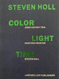 现货 Steven Holl - Color Light Time  色彩 光 时间