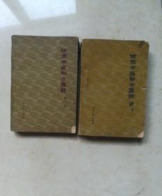 甘肃中医验方集锦(第一、二集)两本合售