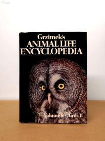 Grzimeks Animal Life Encyclopedia  vol 7,8,9, Bird 1-3