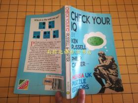 【1992年英文原版书】CHECK YOUR IQ