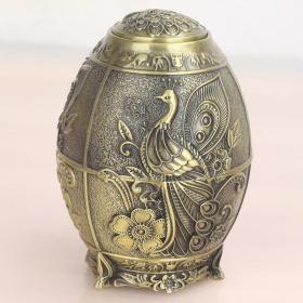 铜合金盒子高10厘米直径8厘米