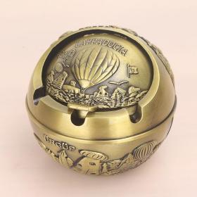 铜合金盒子高9厘米直径9厘米