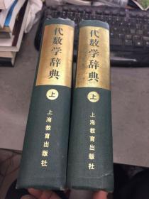 代数学辞典 问题解法  上下册  馆藏
