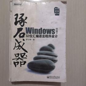 琢石成器:Windows环境下32位汇编语言程序设计(无盘有画线)