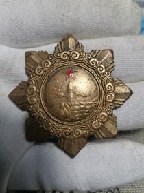 中国人民共和国二级独立自由勋章 二战红色收藏军功章 老兵功勋章奖章 下乡收来的老物件,具有纪念意义,包老尺寸约50*2.5mm011