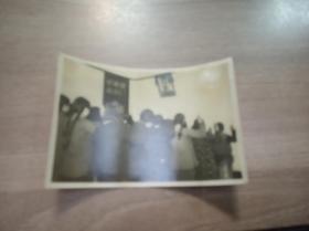 斯大林逝世悼念老照片壹张