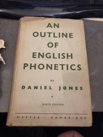 an outline of english phonetics by daniel jones  丹尼尔 · 琼斯的英语语音概要