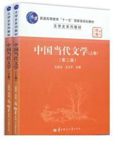 二手正版中国当代文学第二版上下王庆生华中师范大学 两本一套