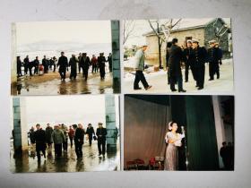 1990年地方文化馆节目慰问肥东县阚集解放军老照片18种