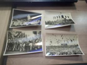 1951年柏林世界青年与学生和平联欢会老照片四张(新闻摄影局供稿)