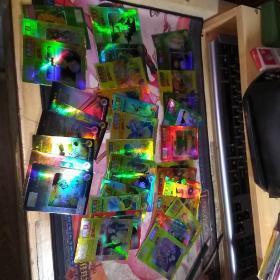小虎队 七龙珠闪卡37张【含6张魔力卡、】,不重复