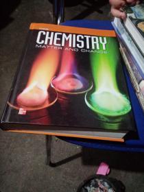 原版16开精装 Glencoe Chemistry: Matter And Change