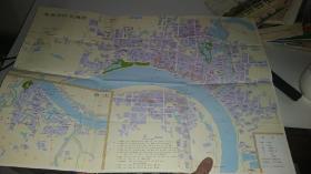 1993年常德市旅游交通图