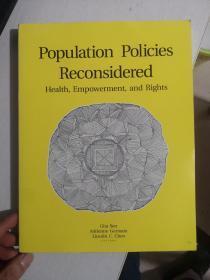 Population Policiees Reconsidered《人口政策重新考虑健康 权力和权利》
