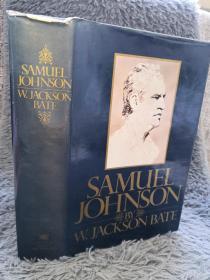 Samuel Johnson  哈佛大学英语系教授贝特《塞缪尔约翰逊传》精装本    插图版   24X16.5CM