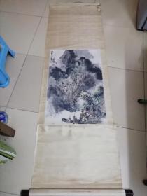 广东著名画家王维宝山水