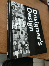 英文原版Designers Design四十位设计师的设计方案精装小八开