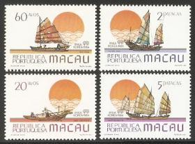 传统交通工具-渔船