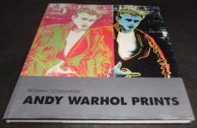 2手英文 Andy Warhol Prints 安迪·沃霍尔 版画 都是小图 裂 sgf7