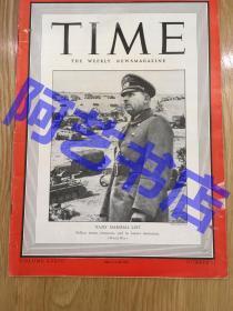 """【现货】时代周刊杂志 Time Magazine, 1941年,封面 """" 德国陆军元帅 威廉·李斯特"""",珍贵史料。"""
