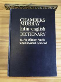 Chambers Murray Latin-English Dictionary 钱伯斯-默里拉英词典[英文原版影印]