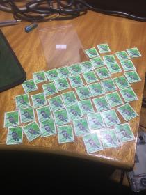 日本邮票,清一色,鸟,48张,清一色,量化收藏系列,20200329