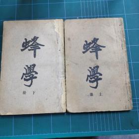 蜂学(上下册) 两厚册