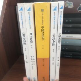 中国民法学 法理学初阶 法理学进阶 刑法总论 中国宪法学