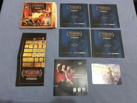 游戏光盘:龙与地下城【4CD+珍藏卡+游戏指南】