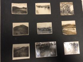 民国抗战时期日军攻占广西地区原版照片9张