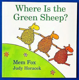 (48A)英文原版 where is the green sheep 平装
