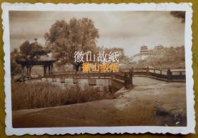 民国老照片:民国北平——颐和园(此角度少)《民国北京系列》