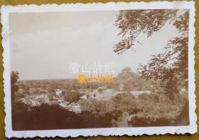 民国老照片:民国北平——颐和园(全景)。《民国北京系列》