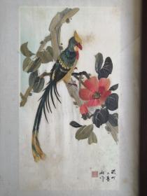 潮州麦秆画