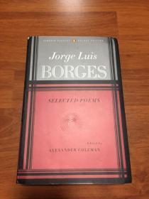 博尔赫斯《诗选》SELECTED POEMS Jorge luis borges