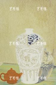 版画家 姜立杰2012年丝网版画《青花呓语III》一幅(尺寸:60*40cm,版号随机,供货编号为:10-80/90,作品直接得自于艺术家本人!) HXTX117454