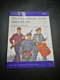 买满就送 osprey系列  435  confederate   Army 1861-65