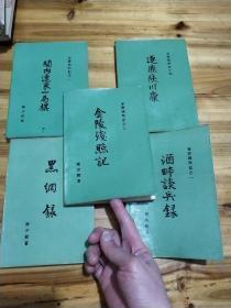 金陵残照记(全五册合售)