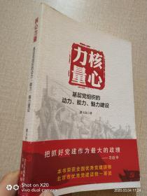 核心力量:基层党组织的动力、能力、魅力建设