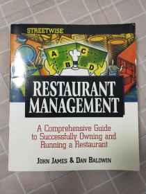 restaurant management【餐厅管理】英文版