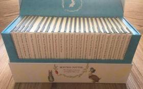 The World of Peter Rabbit 23本盒装 英文彼得兔儿童英文绘本