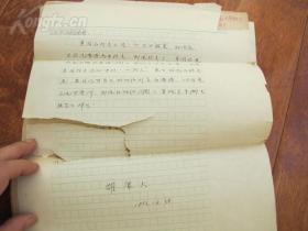 B0023中国社会科学院研究员 胡.康大 稿件8开32页