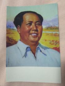毛泽东专题集邮明信片(内部交流)
