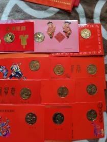 沈阳造币厂 生肖纪念章 卡