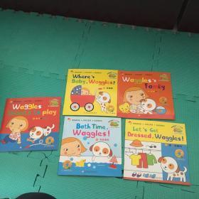 双胞胎去生日会(2-6岁儿童启蒙英语)《11~15》共5册