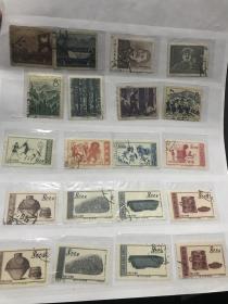 老纪特邮票 信销票成套13套 部分全戳 基本都可以 个别微薄等等