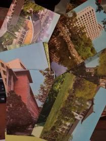 同济大学校景 明信片)12张 看图