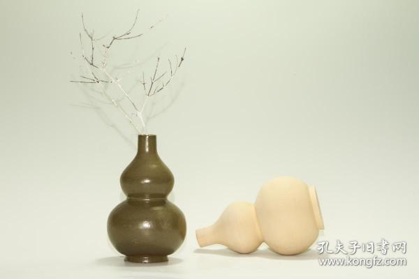 北方土釉葫芦瓶