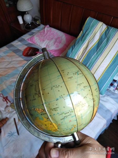 80年代老地球仪